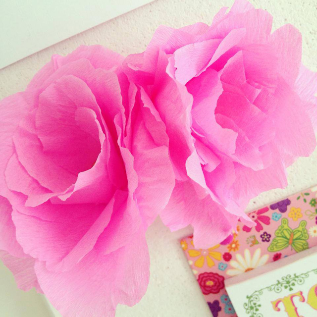 Bloemen Van Crepepapier Bloemen Van Crepe Papier